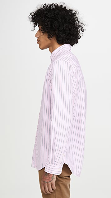 Polo Ralph Lauren Long Sleeve Striped Oxford Shirt