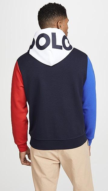 Polo Ralph Lauren Double Knit Tech Logo Hoodie