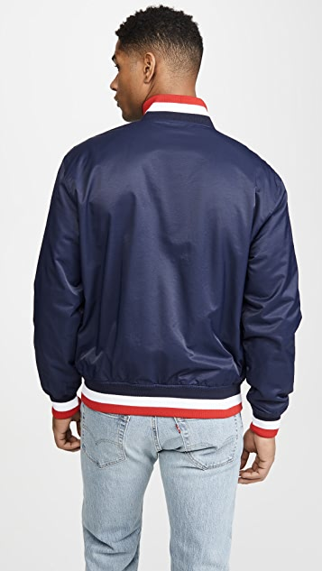 Polo Ralph Lauren Cotton Nylon Baseball Jacket