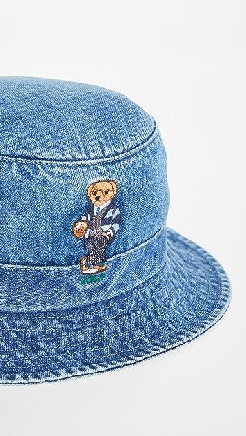 Polo Ralph Lauren Loft Bucket Denim Hat