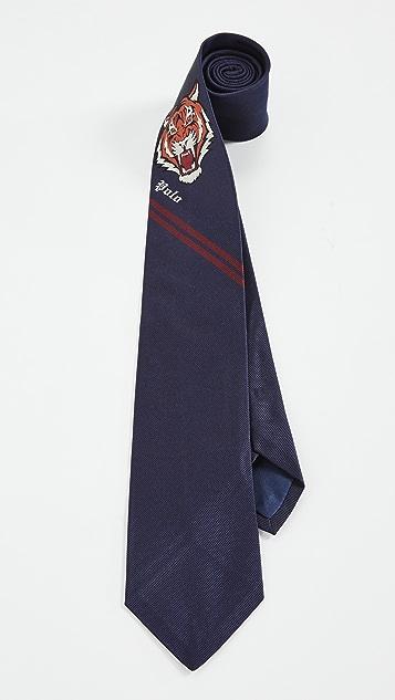 Polo Ralph Lauren Tiger Head Panel Tie