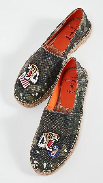 Polo Ralph Lauren Cevio Slip On Espadrilles