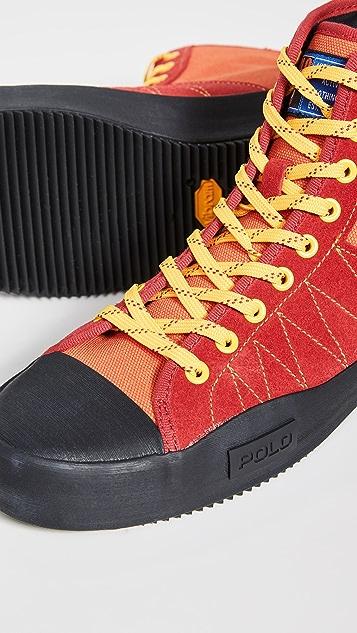 Polo Ralph Lauren Xander Sport High Top Sneakers