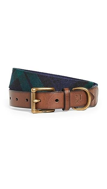 Polo Ralph Lauren Tartan Plaid Belt