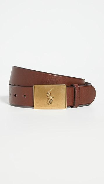 Polo Ralph Lauren Plaque Belt