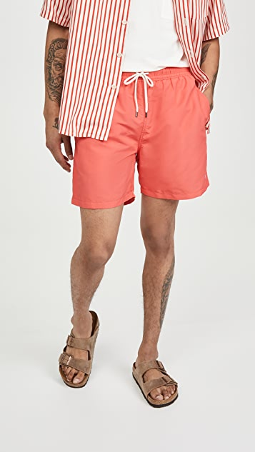 Polo Ralph Lauren Solid Traveler Swim Shorts