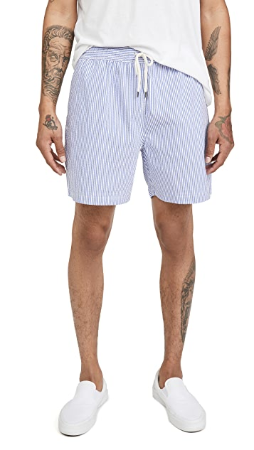Polo Ralph Lauren Printed Swim Trunks