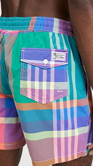 Polo Ralph Lauren Printed Swim Trunks
