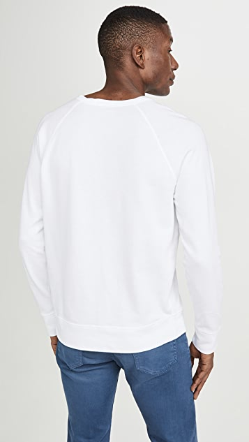Polo Ralph Lauren Cotton Spa Terry Sweatshirt