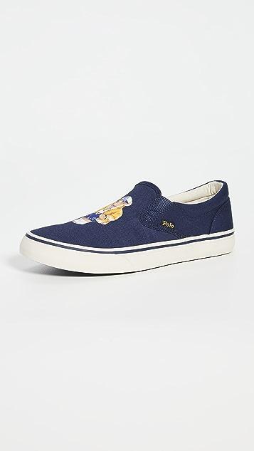 Polo Ralph Lauren Thompson Slip On Sneakers