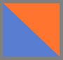 Shiny Fluo Orange/Electric Blu