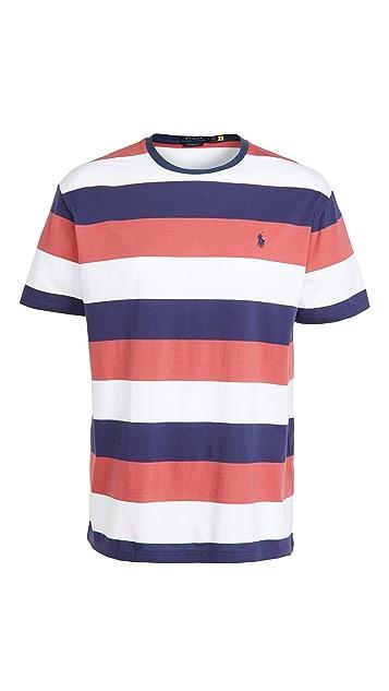 Polo Ralph Lauren Short Sleeve Striped Jersey T-Shirt