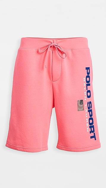 Polo Ralph Lauren Neon Fleece Shorts