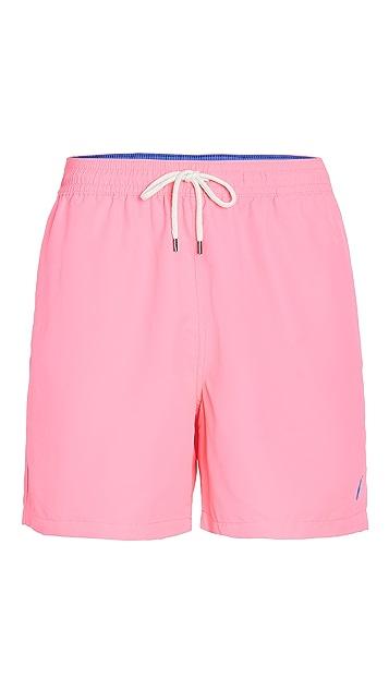 Polo Ralph Lauren Solid Traveler Swim Shorts