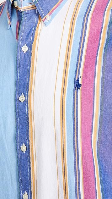Polo Ralph Lauren Short Sleeve Poplin Classic Shirt