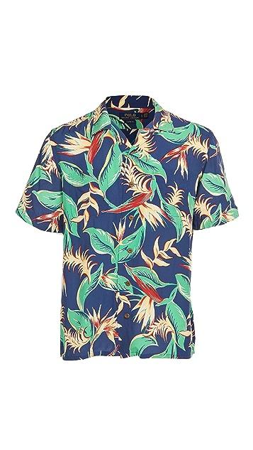 Polo Ralph Lauren Short Sleeve Printed Floral Shirt