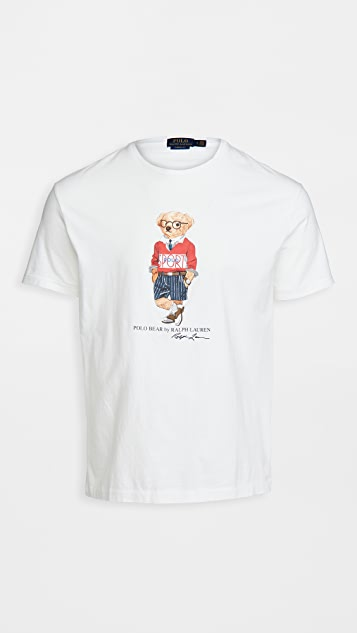 Polo Ralph Lauren Short Sleeve Bear Jersey Tee