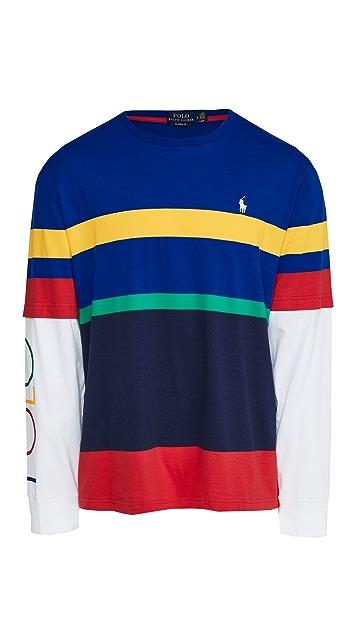 Polo Ralph Lauren Long Sleeve Polo Sport T-Shirt