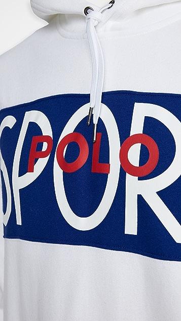 Polo Ralph Lauren Long Sleeve Polo Sport Hoodie