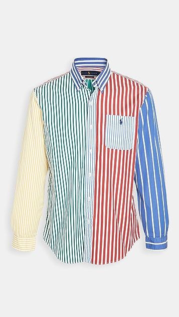 Polo Ralph Lauren Long Sleeve Colorblock Shirt