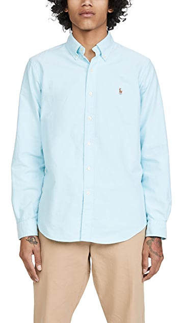 Polo Ralph Lauren Long Sleeve Oxford Sportshirt