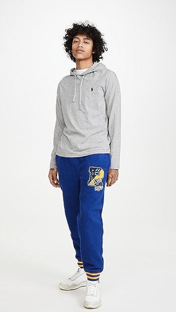 Polo Ralph Lauren Long Sleeve Hooded T-Shirt