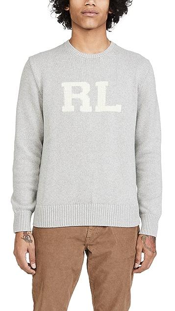 Polo Ralph Lauren Long Sleeve Shaker Sweater