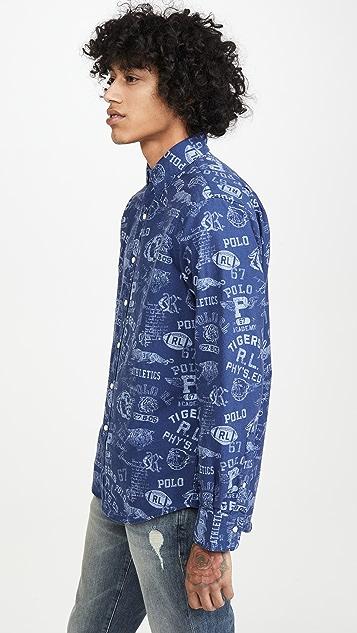 Polo Ralph Lauren Long Sleeve Grays Hall Shirt