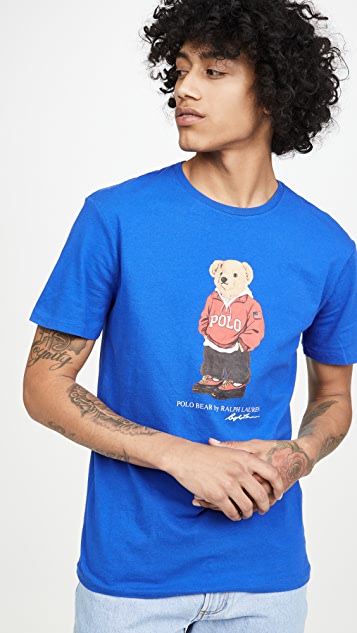 Polo Ralph Lauren Short Sleeve Bears Tee