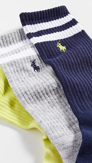 Polo Ralph Lauren Beach Stripe Crew Socks