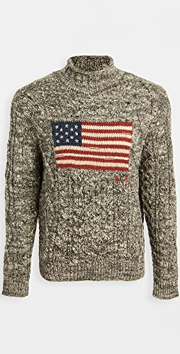 Polo Ralph Lauren - Ragg Wool Flag Sweater