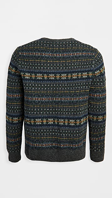 Polo Ralph Lauren Wool Fair Isle Crew Neck Sweater