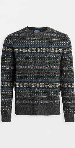 Polo Ralph Lauren - Wool Fair Isle Crew Neck Sweater
