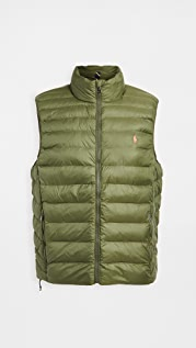 Polo Ralph Lauren Packable Recycled Nylon Down Vest