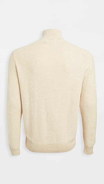 Polo Ralph Lauren Pima Cotton Quarter Zip Sweater