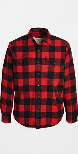 Polo Ralph Lauren - Sherpa Lined Flannel Shirt Jacket