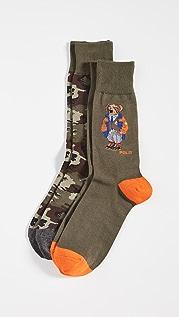 Polo Ralph Lauren Outdoor Tailored Bear Socks
