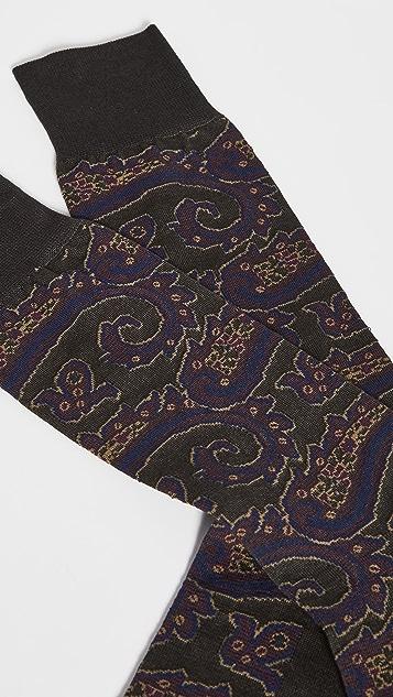 Polo Ralph Lauren Paisley Slack Socks