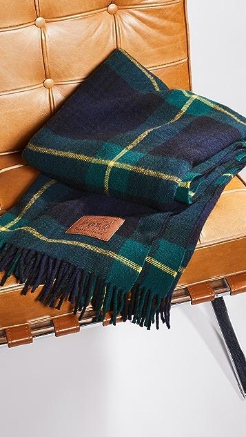 Polo Ralph Lauren Plaid Blanket Wrap