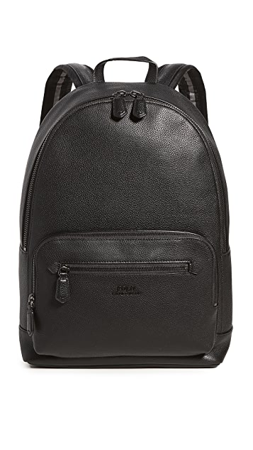 Polo Ralph Lauren Smooth Leather Backpack
