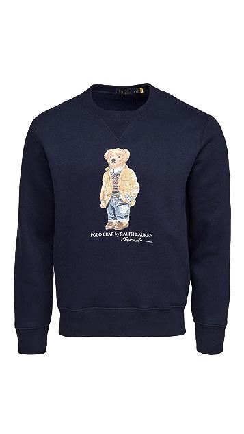 Polo Ralph Lauren Magic Fleece Long Sleeve Sweater
