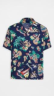 Polo Ralph Lauren Sailing Bear Short Sleeve Shirt