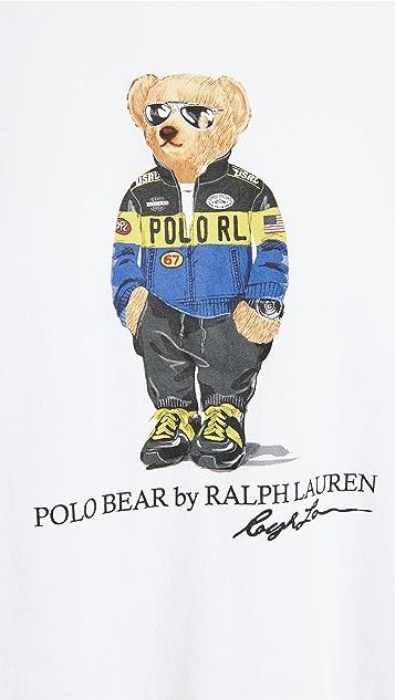 Polo Ralph Lauren Polo Bear Short Sleeve Jersey T-Shirt