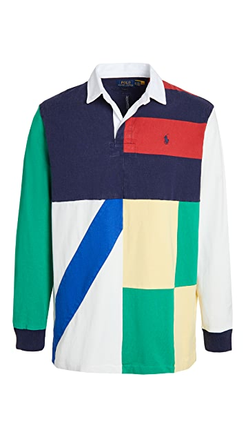 Polo Ralph Lauren Colorblocked Rugby Shirt