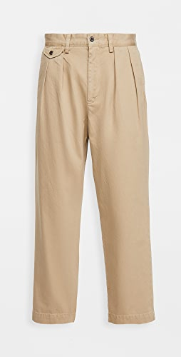Polo Ralph Lauren - Heritage Twill Pleated Chino Trousers