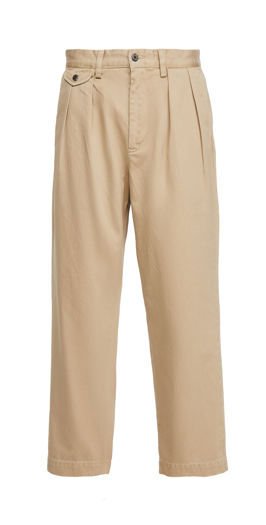 Polo Ralph Lauren Heritage Twill Pleated Chino Trousers