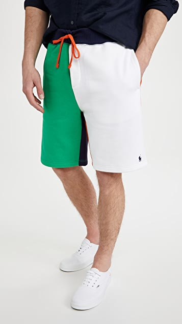 Polo Ralph Lauren Colorblocked Magic Fleece Shorts