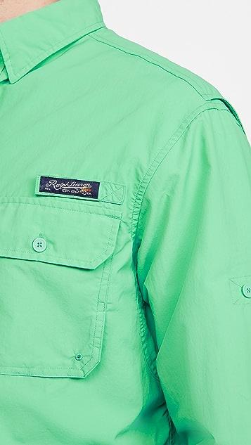 Polo Ralph Lauren Double Pocket Ripstop Trekking Shirt
