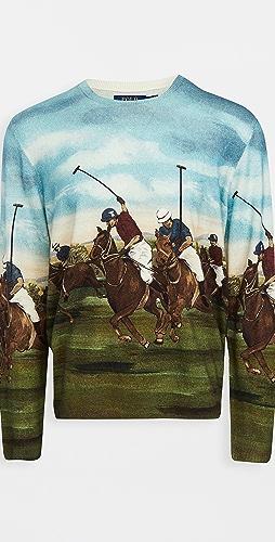Polo Ralph Lauren - Scenic Crew Neck Cashmere Sweater