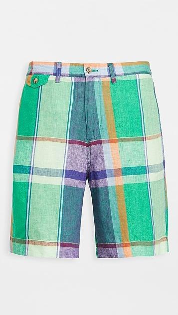 Polo Ralph Lauren Patchwork Madras Classic Shorts